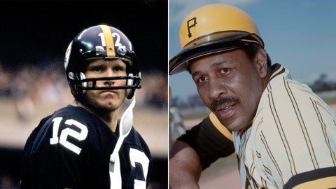 1979 -- Terry Bradshaw and Willie Stargell