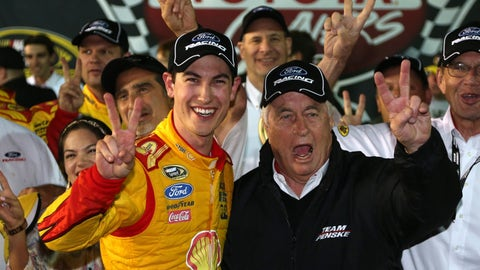 Team Penske race winners in NASCAR through the years