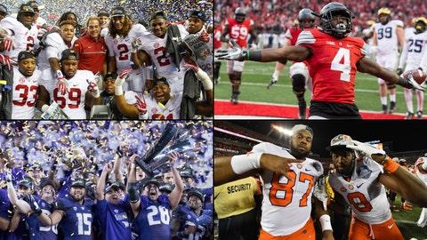 National championship game -- Jan. 9, Tampa, Fla. -- TBD