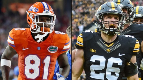 Outback Bowl -- Jan. 2, Tampa, Fla. -- Florida vs. Iowa