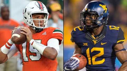 Russell Athletic Bowl -- Dec. 28, Orlando, Fla. -- Miami vs. West Virginia