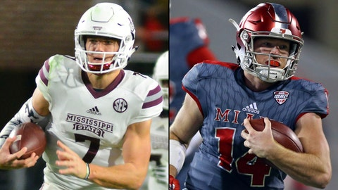 St. Pete Bowl -- Dec. 26, St. Petersburg, Fla. -- Mississippi State vs. Miami (Ohio)