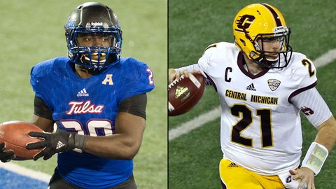Miami Beach Bowl -- Dec. 19, Miami -- Tulsa vs. Central Michigan