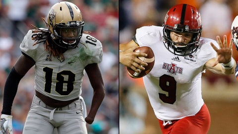 Cure Bowl -- Dec. 17, Orlando, Fla. -- UCF vs. Arkansas State