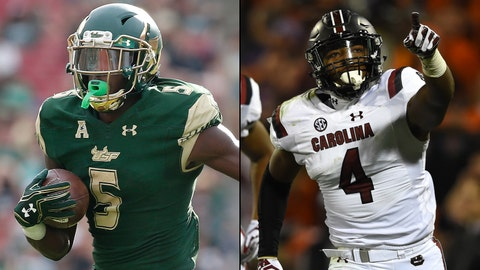 Birmingham Bowl -- Dec. 29, Birmingham, Ala. -- USF vs. South Carolina