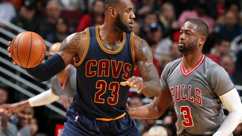 Dwyane Wade to the Cleveland Cavaliers with LeBron James, Kyrie Irving, Kevin Love
