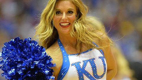 Kansas cheerleader