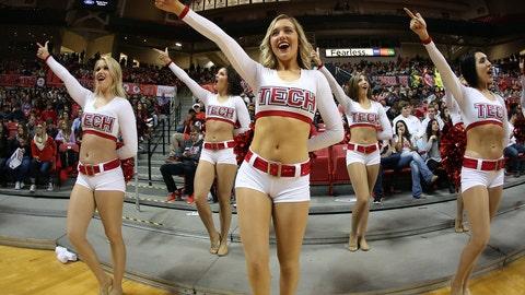 Texas Tech cheerleaders