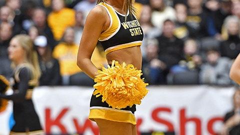 Wichita State cheerleader