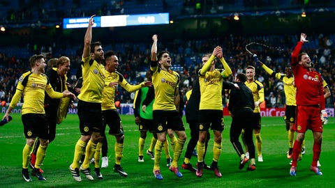 Dortmund battle back for draw that feels like a win