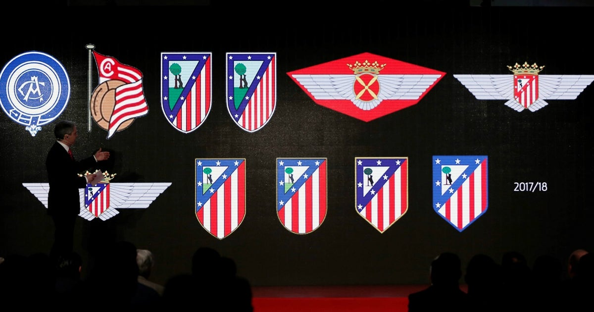 heres what atletico madrids new crest and stadium look