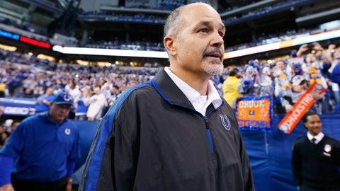 Chuck Pagano, Indianapolis Colts (Last Week: 8)