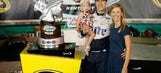 Social media congratulations pour in for Brad Keselowski's engagement