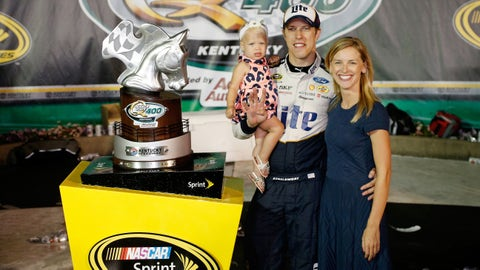 Congratulations Brad Keselowski and Paige White