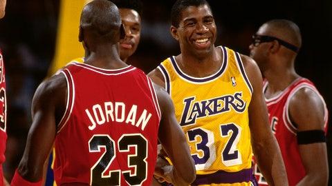 Jordan never faced a truly worthy adversary