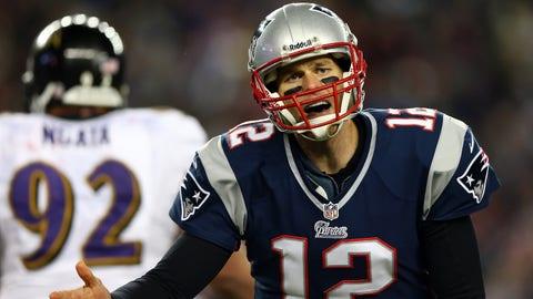 2012: Ravens 28, Patriots 13