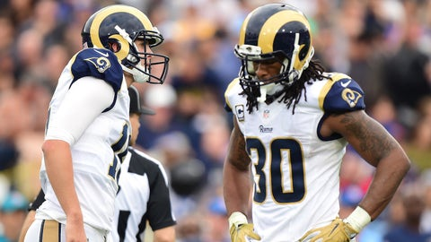 "The Los Angeles Rams feature a ""middle school offense"""