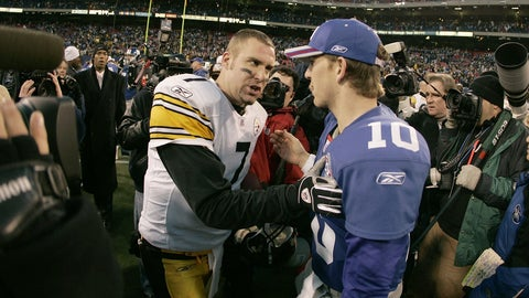 The Giants would have picked Ben Roethlisberger if they hadn't landed Manning