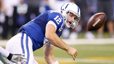 Indianapolis Colts: +2750 (55/2)