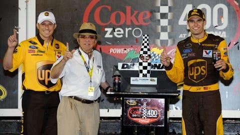 David Ragan deals at Daytona
