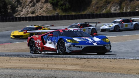 IMSA Mazda Raceway Laguna Seca