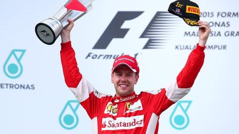 2015 Malaysian GP - Sebastian Vettel