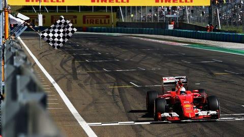 2015 Hungarian GP - Sebastian Vettel