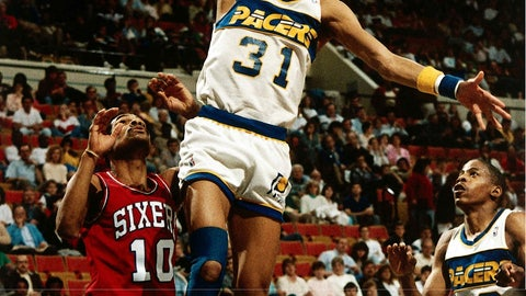 Indiana Pacers: 1984-85 to 1989-90 (home)