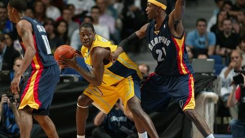 Memphis Grizzlies: 2007 NBA Europe Live Tour (alternate)