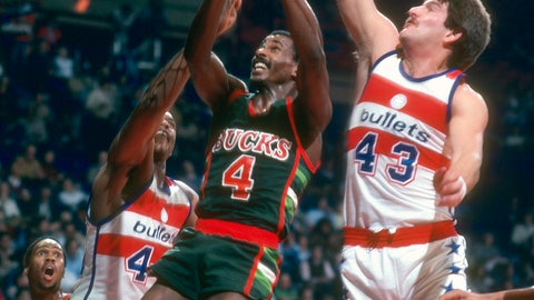 Milwaukee Bucks: 1978-79 to 1985-86 (road)