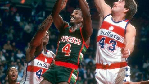 Milwaukee Bucks: 1978-79 to 1985-86 (road)