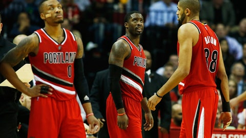 Portland Trail Blazers: 2012-13 to present (alternate)