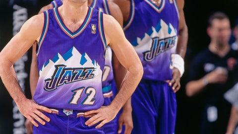 Utah Jazz: 1996-97 to 2003-04 (road)