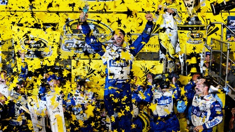 2016, Jimmie Johnson, 5