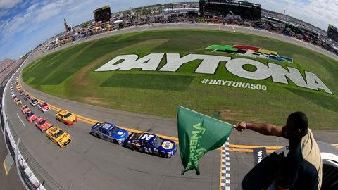 Pole position at Daytona