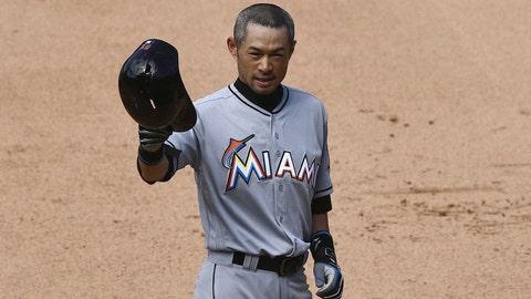 6. Ichiro joins 3000-hit club
