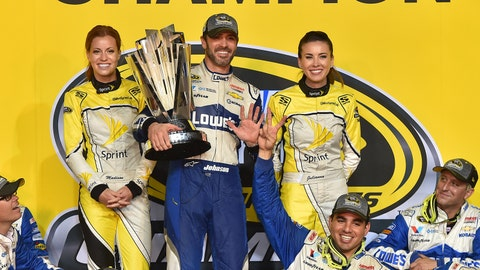 8. Jimmie Johnson claims record-tying 7th Cup title at Homestead