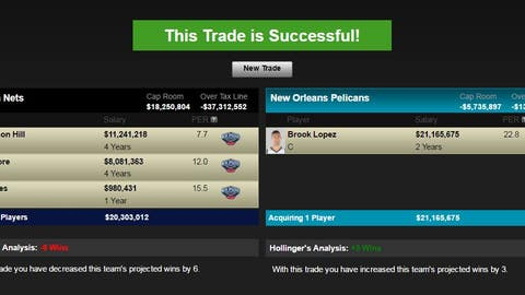 Brooklyn Nets turn Brook Lopez into a first-round pick
