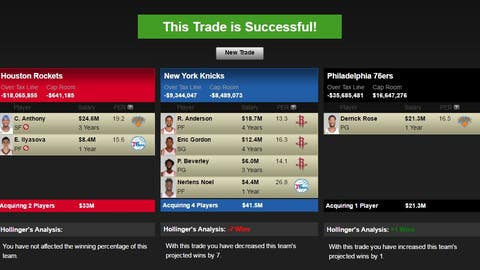 Houston Rockets get the second superstar they've always wanted