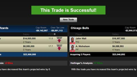 Washington Wizards pick Bradley Beal over John Wall