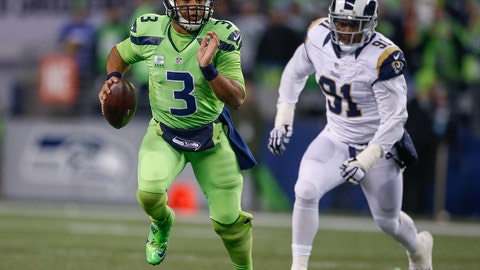 Week 15: If you get lost in the dark, just look for the Seahawk