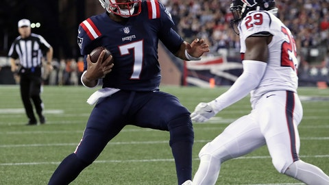 Week 3: The Jacoby Brissett game