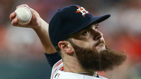 Dallas Keuchel stick-on beard