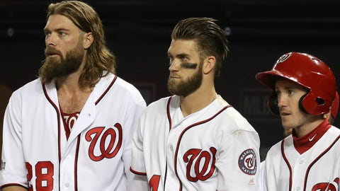 Washington Nationals outfielder evolution chart