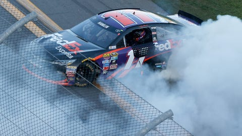 16 tracks where Denny Hamlin has won Cup Series races