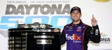 Denny Hamlin talks repeat at Daytona, road courses, and new Camry