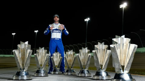 Will Jimmie Johnson win his eighth championship?