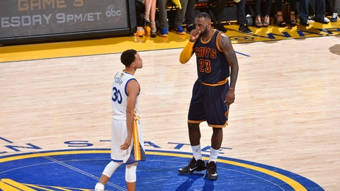 2015: Warriors beat Cavaliers 4-2