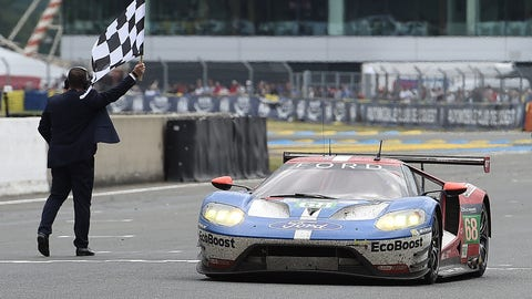 2. Ford GT wins Le Mans amid BoP controversy