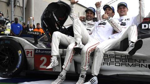 3. Porsche steals Le Mans victory
